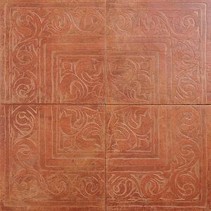 Декор з 4-х плиток rosso (rax22)