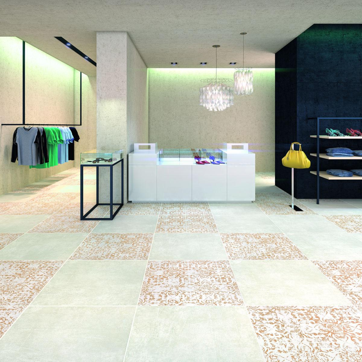 Декор Cemento Bianco 60x60 (zrxf1d) изображение 1