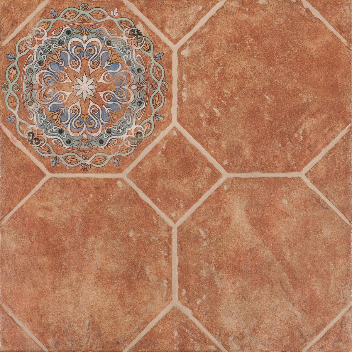 Декор Octagon Deco  octagon rosso 45x45 (zwx82d) изображение 0