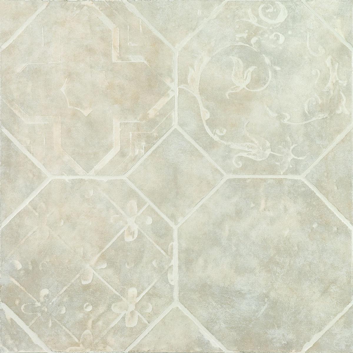 Плитка DECO  OCTAGON BIANCO 45*45 Decorato Octagon Bianco (zwxv81) изображение 1