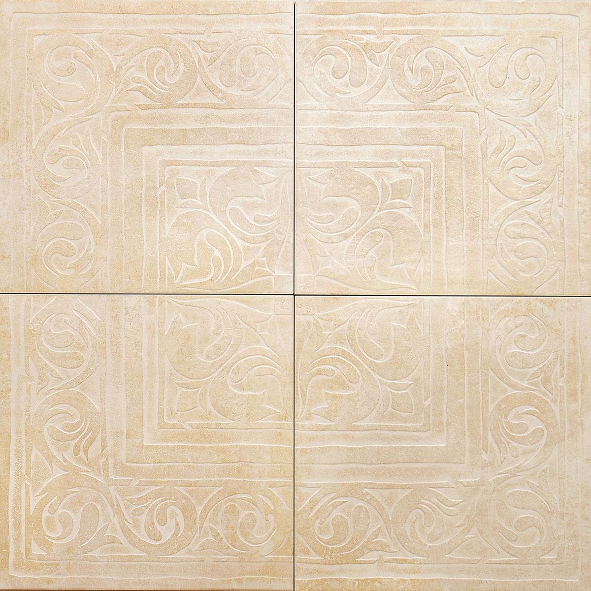 Декор з 4-х плиток beige (rax21) изображение 0