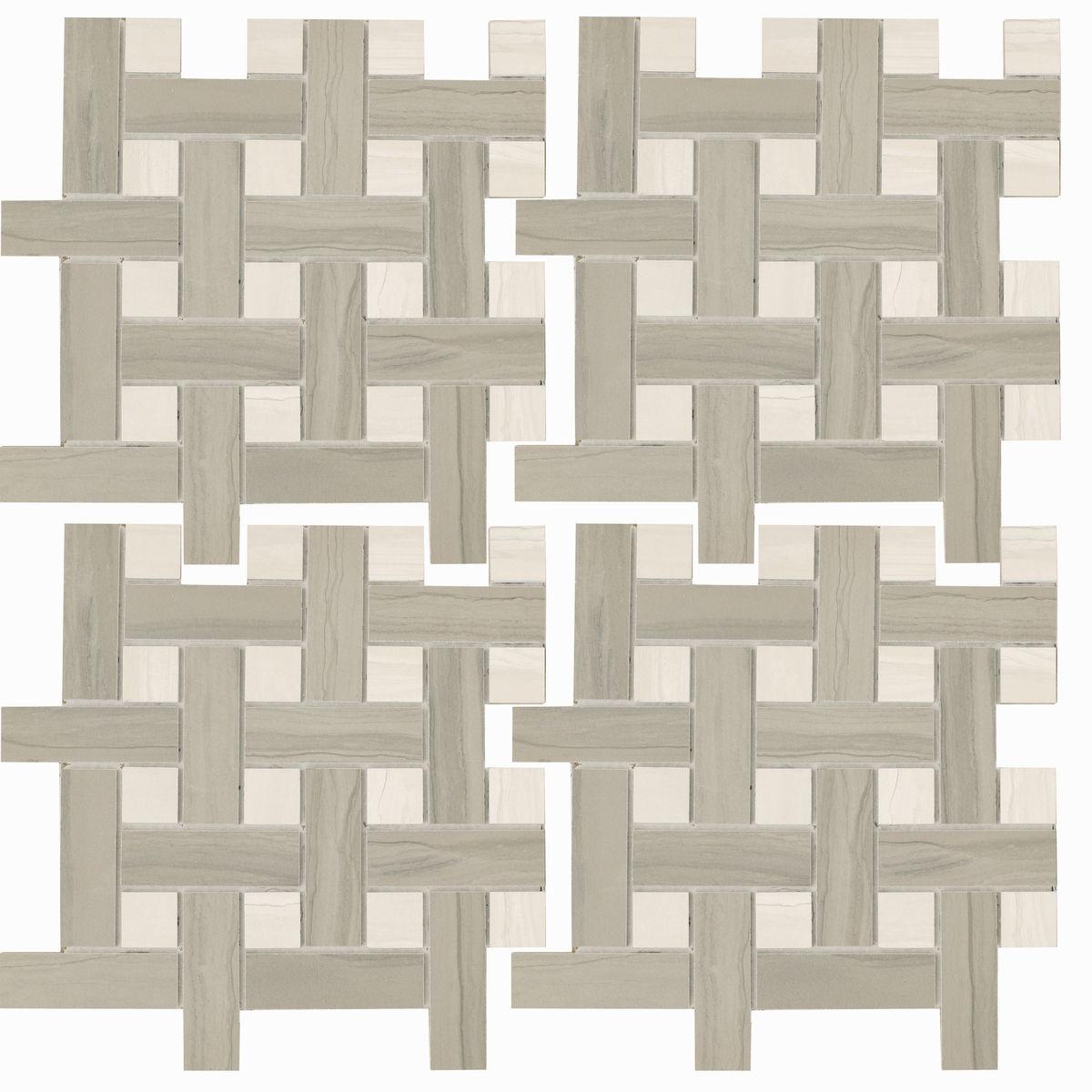 Мозаика BIANCO Marmo Acero Bianco (mmcxma18) изображение 0