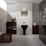 Плитка Acquerelli Bianco в ванной